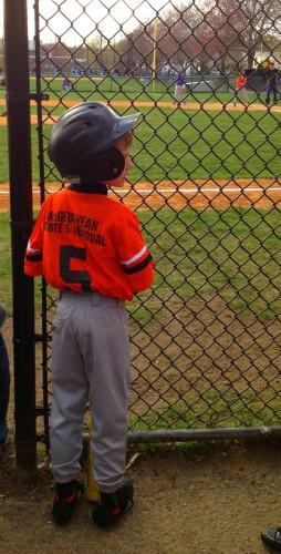 Whit baseball